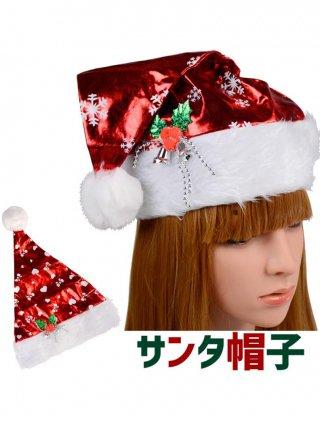 シャイニーカラークリスマス サンタクロース帽子♡雪の結晶*赤 演奏会 ラミューズドレス通販