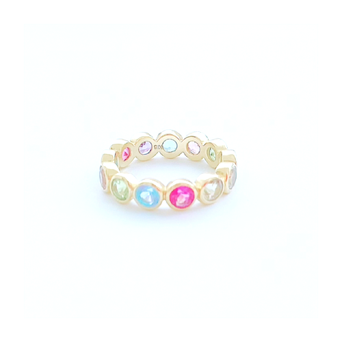 Dreaming Rainbow Eternity Ring