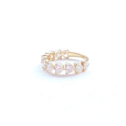 Hert Eternity Ring