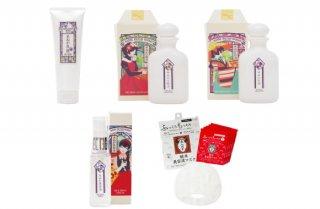 【定期購入】神戸美人ぬか ベーシックセット×1、神戸美人ぬか 米ぬか美容液×1、純米美容液マスク×3(毎月15日出荷)※純米美容液マスクは通常価格です