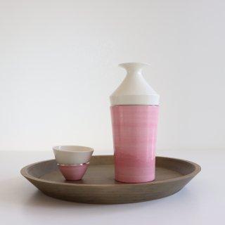 Sake bottle Muji  Pink/田中雅文