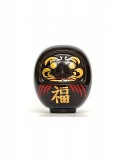 漆塗りカーボンダルマ(飛騨春慶塗) /Hida Shunkei Urushi Carbon Daruma