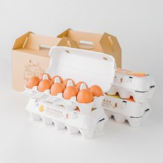 ギフトセット(20個入り x 2セット)卵Lサイズ