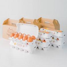 ギフトセット(20個入り x 3セット)卵Lサイズ