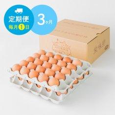 【毎月1日に3ヶ月間お届け】栄味卵(50個)