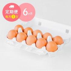 【毎月1日に6ヶ月間お届け】栄味卵(10個)