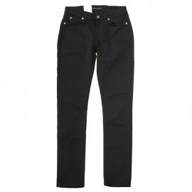 <img class='new_mark_img1' src='https://img.shop-pro.jp/img/new/icons7.gif' style='border:none;display:inline;margin:0px;padding:0px;width:auto;' />SKINNY LIN(BLACK BLACK) / Nudie Jeans(ヌーディージーンズ)