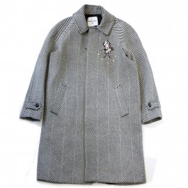 <img class='new_mark_img1' src='https://img.shop-pro.jp/img/new/icons20.gif' style='border:none;display:inline;margin:0px;padding:0px;width:auto;' />EMBROIDED RESCA COAT/FRONT STREET 8(フロントストリートエイト)通常価格¥77,000→【40%OFF】