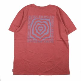 <img class='new_mark_img1' src='https://img.shop-pro.jp/img/new/icons20.gif' style='border:none;display:inline;margin:0px;padding:0px;width:auto;' />HEART WARP TEE SHIRT/ BANKS JOURNAL(バンクスジャーナル)通常価格¥5,500→【10%OFF】