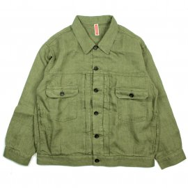 <img class='new_mark_img1' src='https://img.shop-pro.jp/img/new/icons20.gif' style='border:none;display:inline;margin:0px;padding:0px;width:auto;' />【RATO別注】LINEN TWILL WORK JACKET / Betty Smith (ベティスミス)通常価格¥21,780→【10%OFF】
