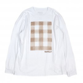 <img class='new_mark_img1' src='https://img.shop-pro.jp/img/new/icons7.gif' style='border:none;display:inline;margin:0px;padding:0px;width:auto;' />GINGHAM WATER COLOR LONG SLEEVE / SALT SURF (ソルトサーフ)
