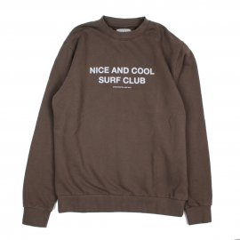 <img class='new_mark_img1' src='https://img.shop-pro.jp/img/new/icons7.gif' style='border:none;display:inline;margin:0px;padding:0px;width:auto;' />NICE AND COOL SURF CLUB SWEAT / SALT SURF (ソルトサーフ)