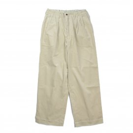 <img class='new_mark_img1' src='https://img.shop-pro.jp/img/new/icons7.gif' style='border:none;display:inline;margin:0px;padding:0px;width:auto;' />【21F/W】2TUCK STRAIGHT FIT TROUSERS 9WALE CORDUROY /marka(マーカ)