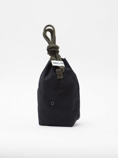 【30%OFF】CB007  SMALL MEDIUM・PERSONAL EFFECTS BAG   / COTTON DUCK / BLACK