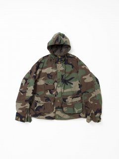 CJ039 KERRY'S PARKA 20 / NYCO WOODLAND CAMOUFLAGE PATTERN TWILL from U.S