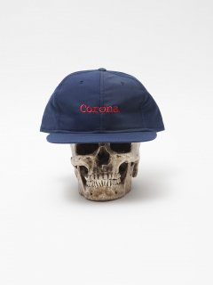 CA006 US NAVY SURPLUS BLUE UTILITY CAP x CORONA RED EMBROIDERY