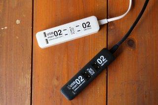 電源タップ×2個口&USBポート×2個口