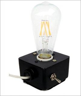 裸電球専用ランプベース