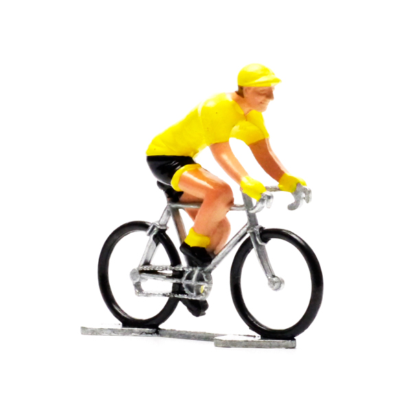 the model cyclist + WBH!! YELLOW GERSEY