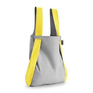 【notabag】BAG&BACKPACK グレー/イエロー【ノットアバッグ】