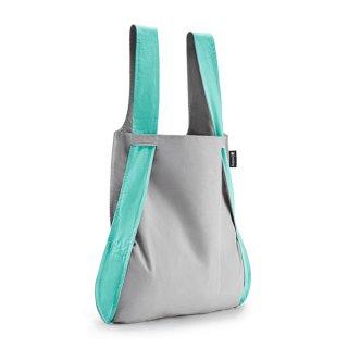 【notabag】BAG&BACKPACK グレー/ミント【ノットアバッグ】