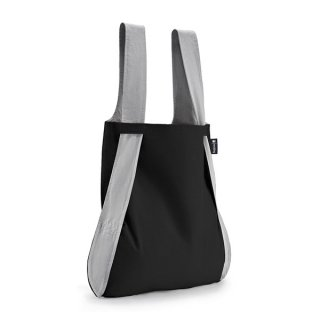【notabag】BAG&BACKPACK ブラック/グレー【ノットアバッグ】