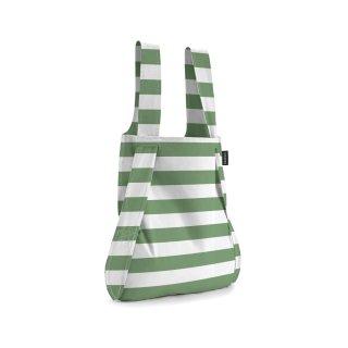 【notabag】BAG&BACKPACK オリーブストライプ【ノットアバッグ】