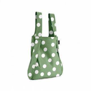 【notabag】BAG&BACKPACK オリーブドット【ノットアバッグ】