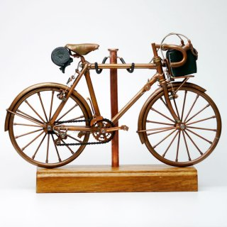 【ミニチュア自転車工房 いわき】クラシックランドナー CR-02