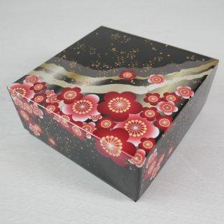 コレクションBOX130角(紅梅・黒)