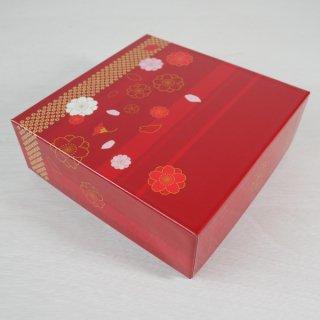 コレクションBOX160角(ニューイヤー・赤)