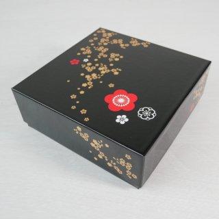 コレクションBOX160角(ニューイヤー・黒)