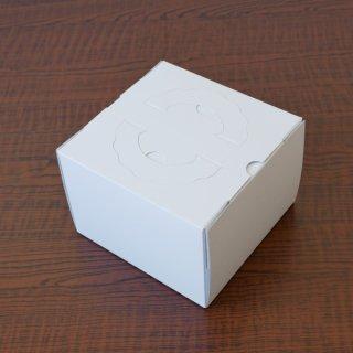 手提デコ箱(白無地)(4寸)