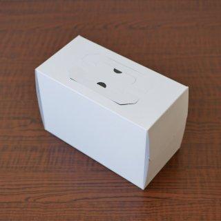 手提ノエルデコ箱ホワイト(K6ゴールドトレー付)