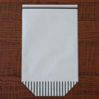 おすわりマット袋(グレーストライプ)(5枚入)