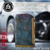 Asvape Michael VO200 TC Box Mod Stabilization Wood Edition(マイケルモッドウッドエディション)【アスベイプ】【ボックスタイプ BOX】