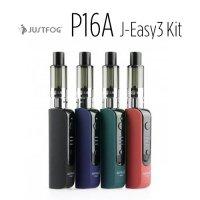 JUSTFOG P16A J-Easy3 Kit【ジャストフォグ】【スターターキット kit】【ペンタイプ】【クリアロマイザー】【テクニカルMOD】