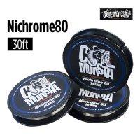 【ネコポス対応可】Coil Monsta Nichrome80 Wire 30ft[22/23/24/26A/28/30AWG]【コイルモンスター ニクロムワイヤー アクセサリー RBA】