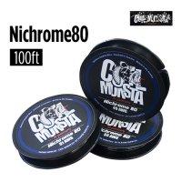 【ネコポス対応可】Coil Monsta Nichrome80 Wire 100ft[55AWG]【コイルモンスター ニクロムワイヤー RBA】