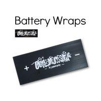 【ネコポス対応可】Coil Monsta Battery Wraps 5枚入り【コイルモンスター バッテリーラップ ビルドツール】