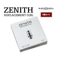 【ネコポス対応可】Innokin ZENITH REPLACEMENT COIL 5個セット【イノキン ゼニス ZENITH MTL Tank用コイル】