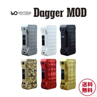 VO Tech Dagger MOD(ダガーモッド)【ブイオーテック】【温度管理機能 TC】【サブオーム SUBΩ】【ボックスタイプ BOX】