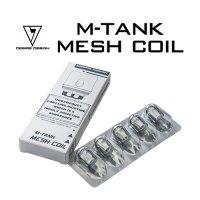 【ネコポス対応可】DESIRE DESIGN MAD MOD M-Tank用コイル 5個セット【デザイヤーデザイン マッドモッドエムタンク】