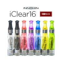 【ネコポス対応可】Innokin iClear16アトマイザー 5個セット【イノキン アイクリアー アトマイザー】