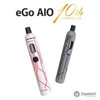 Joyetech eGo AIO 10th Anniversary(イーゴ)【ジョイテック】【スターターキット ペンタイプ テクニカルMOD クリアロマイザー】
