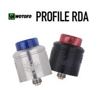 Wotofo PROFILE RDA 24mm(プロファイル)【ウォトフォ】【アトマイザー ボトムフィーダー BF対応 メッシュ シングルデッキ】