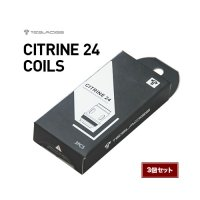 【ネコポス対応可】TESLACIGS CITRINE 24 COILS 3個セット【テスラシグ シトリンコイル 交換用POD コイル アトマイザー】