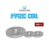 【ネコポス対応可】VANDY VAPE MAZE COIL 3個セット【ヴァンディーベイプ メイズコイル】