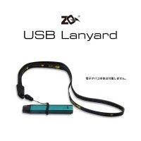 【ネコポス対応可】ZQ USB Lanyard【ゼットキュー ストラップ 充電ケーブル micro USB Type-B アクセサリー】