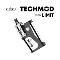 KIZOKU TECHMOD 80W MOD with LIMIT MTL RTA Kit【キゾク テックモッド リミット バッテリー別売】